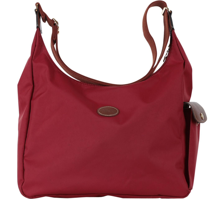 Red Le Pliage Hobo Bag Sling Bag