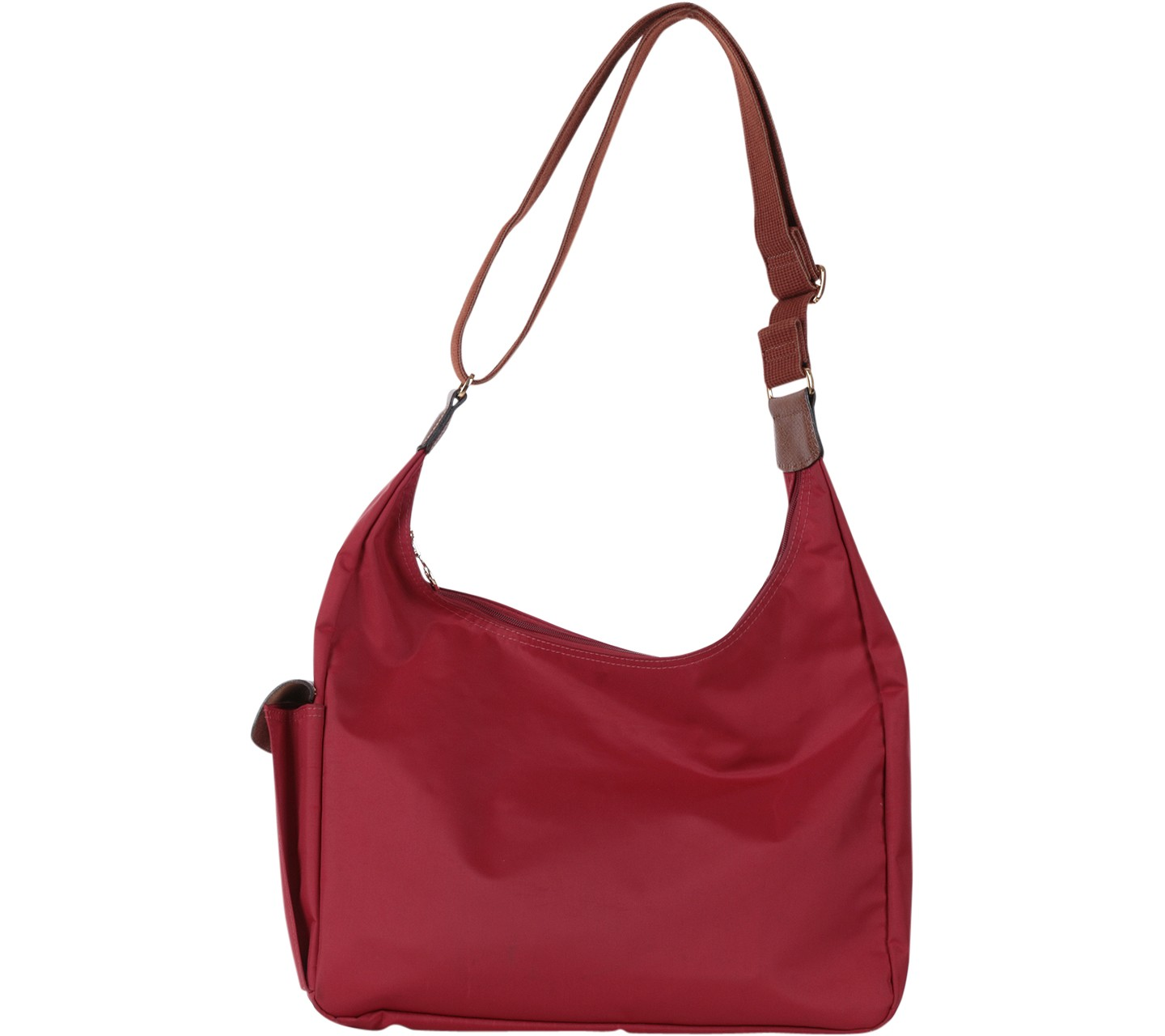 Longchamp Red Le Pliage Hobo Bag Sling Bag