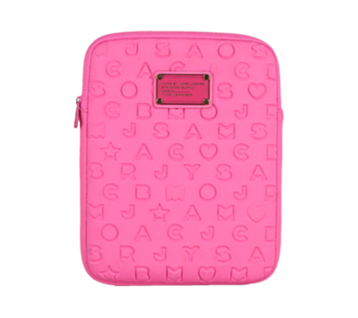 Marc Jacobs Pink Alphabet Ipad Case