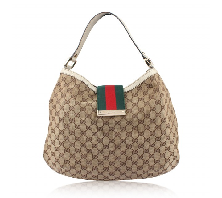 Gucci Brown Borsa Sunset Tote Bag