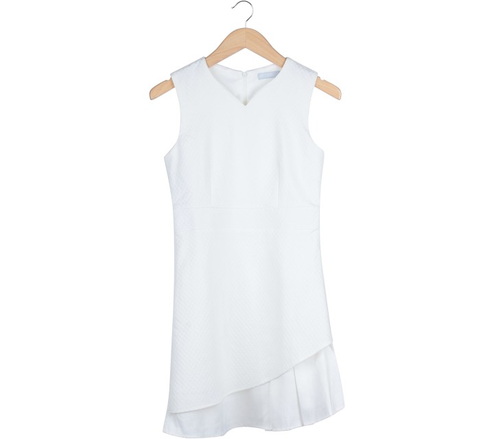 Dressabelle White Mini Dress