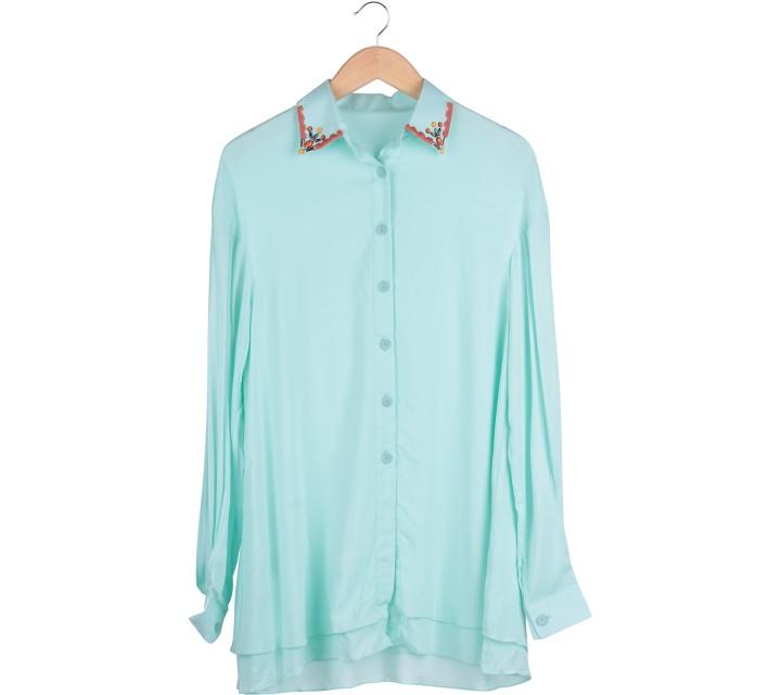 Green Loose Shirt
