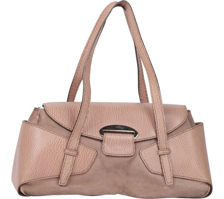 Tod´s Brown And Pink Shoulder Bag