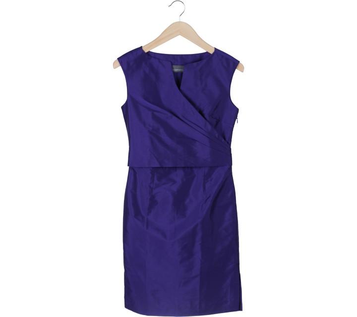 Vesperine Purple Mini Dress
