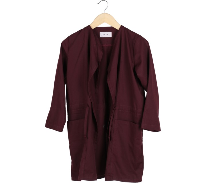 I.K.Y.K Maroon Coat