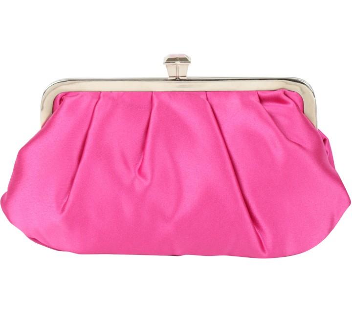 BCBG Pink Clutch