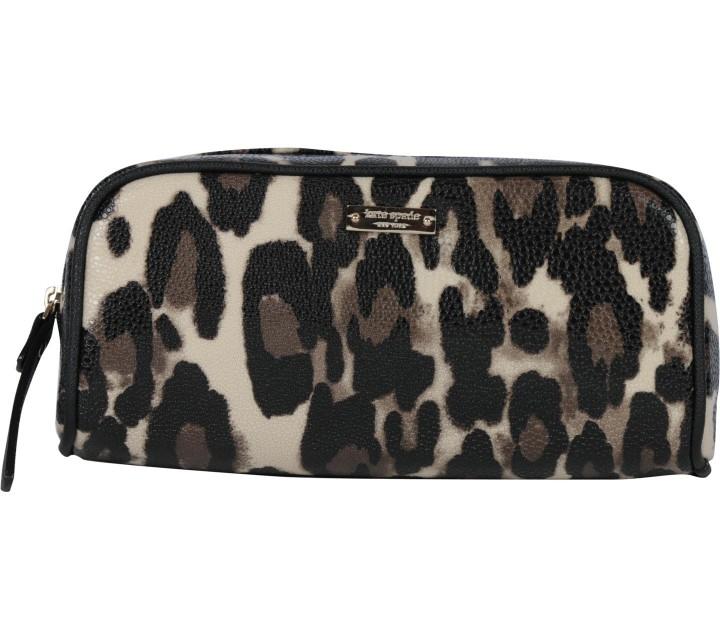 Kate Spade Multi Colour Leopard Pouch
