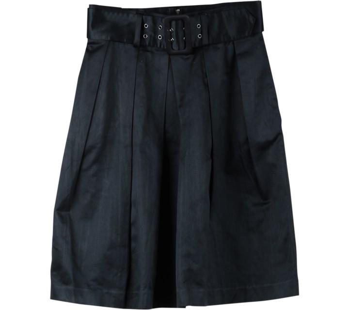 Mango Black Midi Skirt
