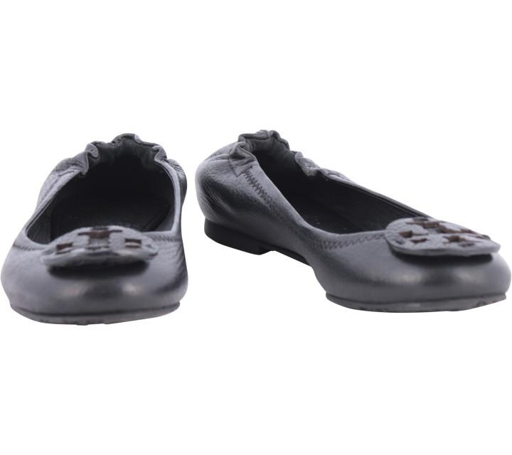 Tory Burch Black Ballerina Flats