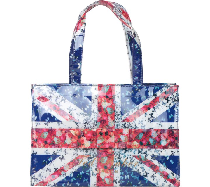 Ted Baker Multi Colour Ribbon Tote Bag