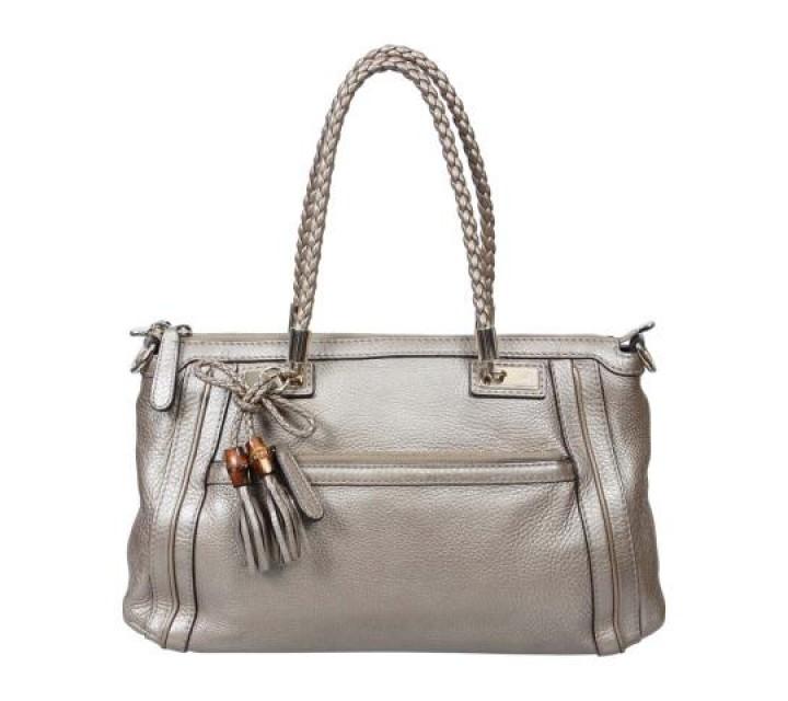 Gucci Silver Tassle Bella Shoulder Bag