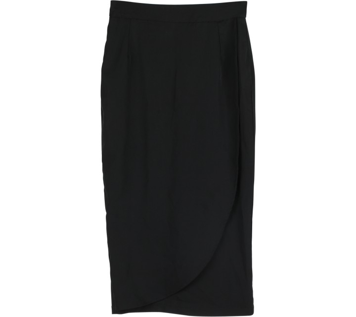Beste Project Black Layered Skirt