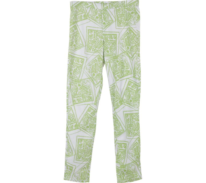 UNIQLO Green And White Jegging Pants