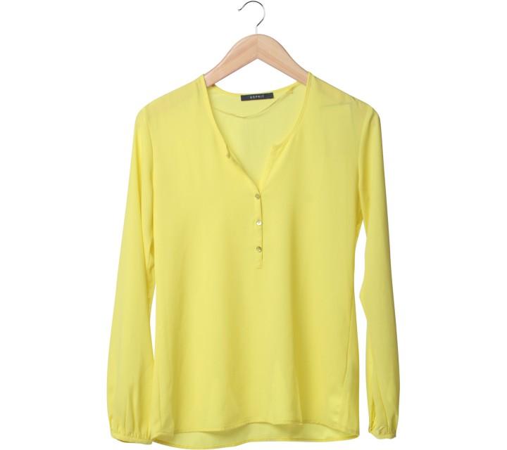 Esprit Yellow Blouse