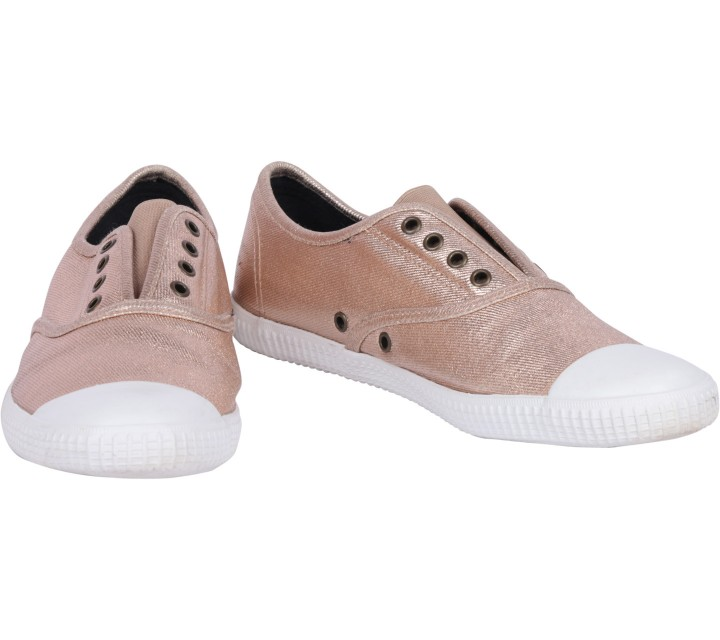 Rubi Bronze Slip On Sneakers