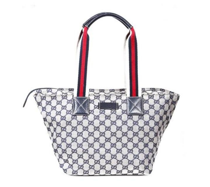 Gucci Grey Shoulder Bag