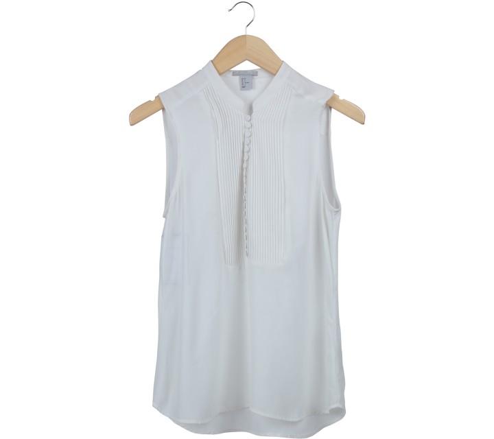 H&M Off White Sleeveless
