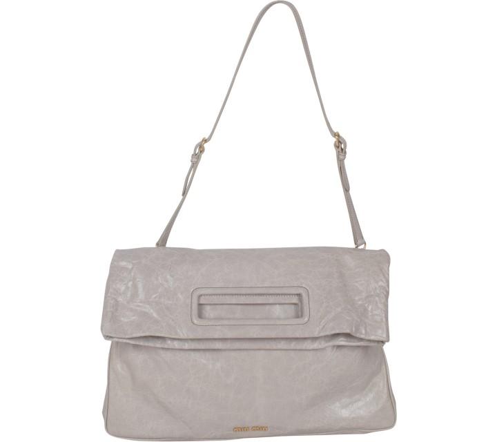 Miu Miu Grey Sling Bag