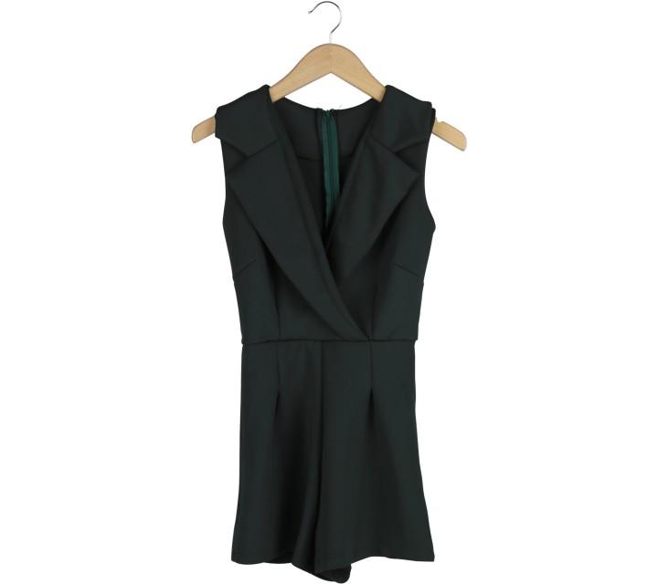 Dark Green Jumpsuit