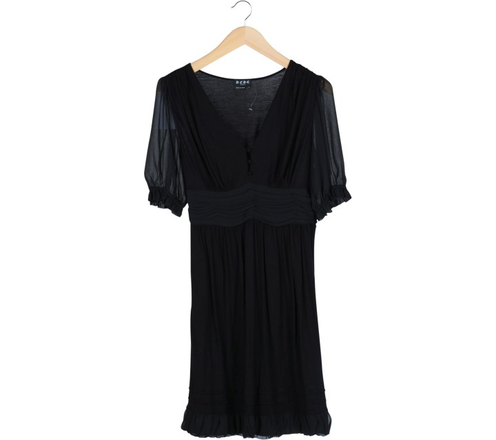 BCBG Black Combi Mini Dress