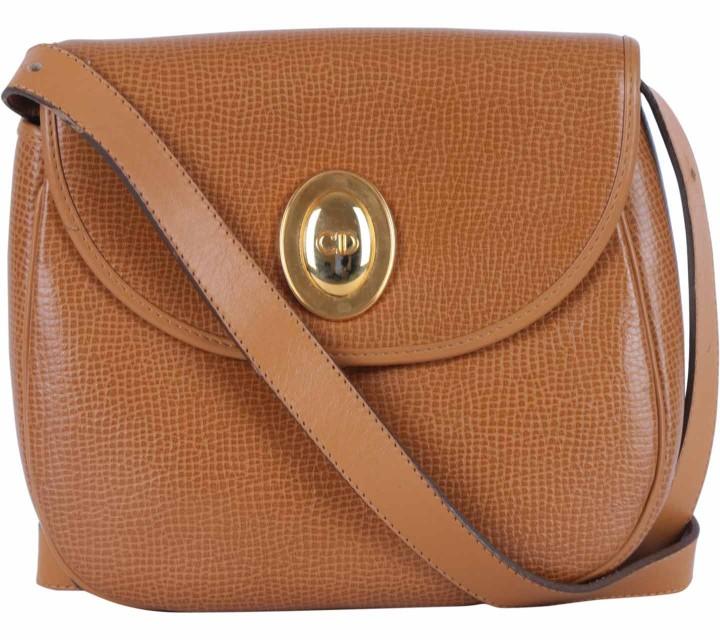 Christian Dior Brown Vintage Sling Bag