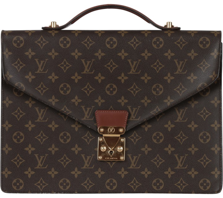 Louis Vuitton Brown Monogram Satchel