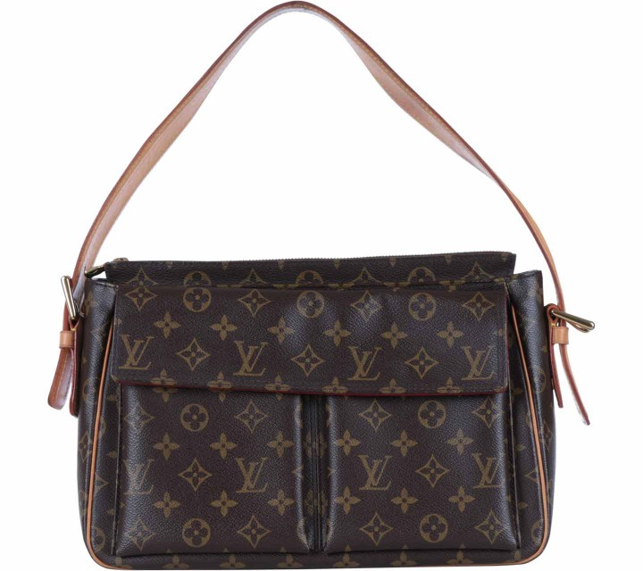 Louis Vuitton Brown Viva Cite Handbag