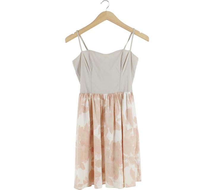 H&M Cream Mini Dress