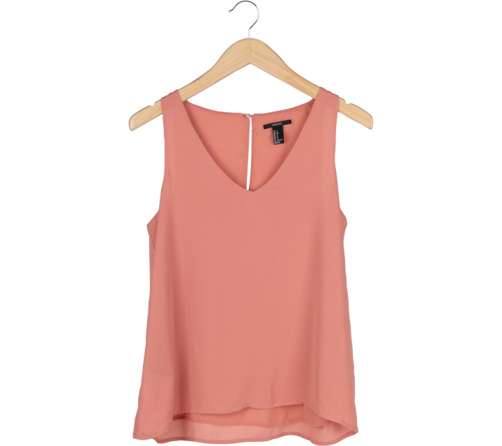 Forever 21 Peach Sleeveless
