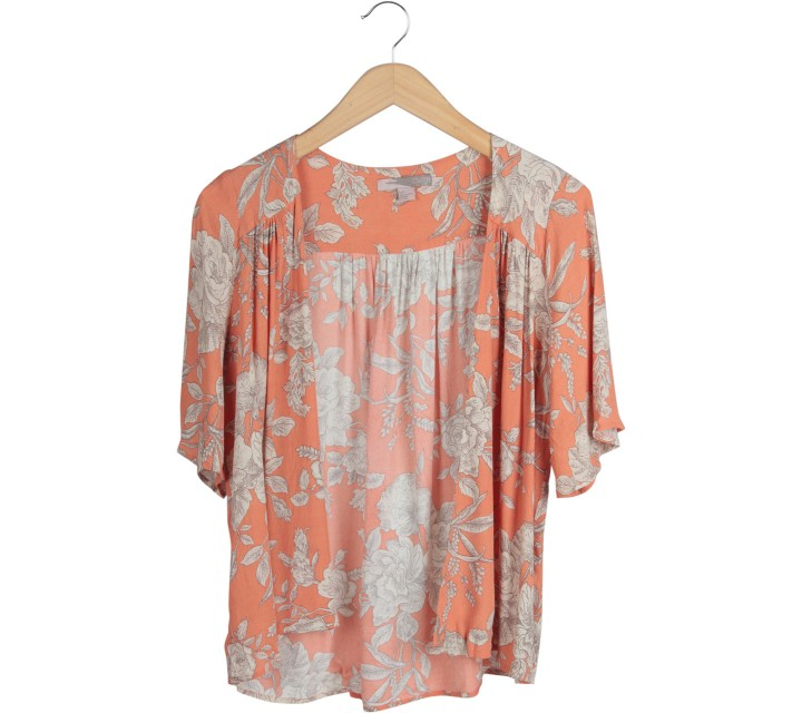 Forever 21 Orange Outerwear