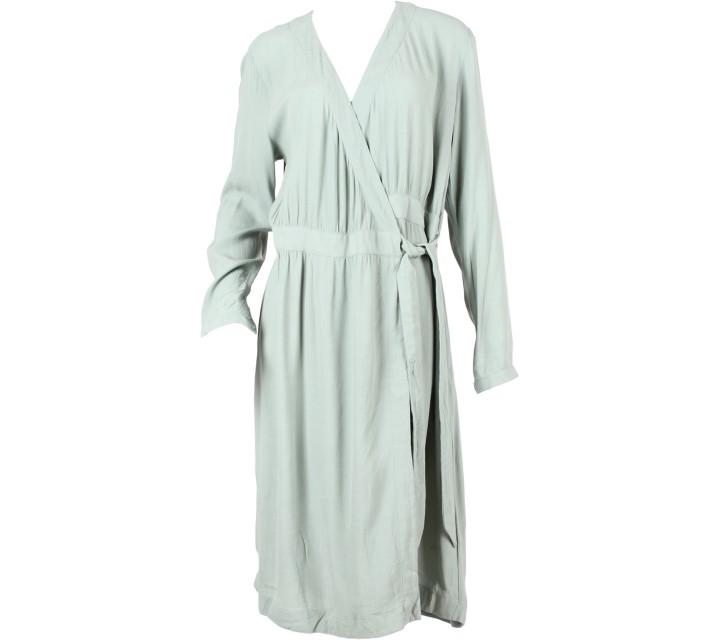 H&M Green Wrep Midi Dress