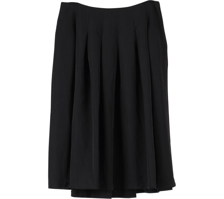 Forever 21 Black Midi Skirt