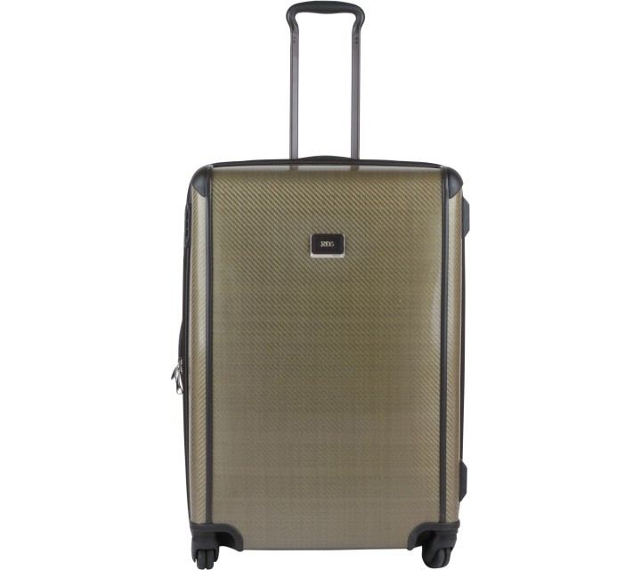 Tumi Dark Green International Carry-On Luggage and Travel