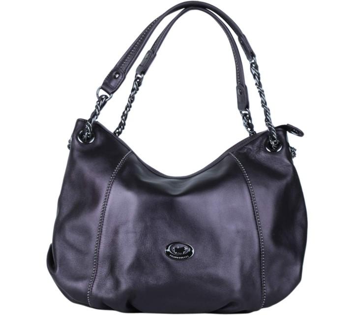 Braun Buffle Dark Purple Shoulder Bag