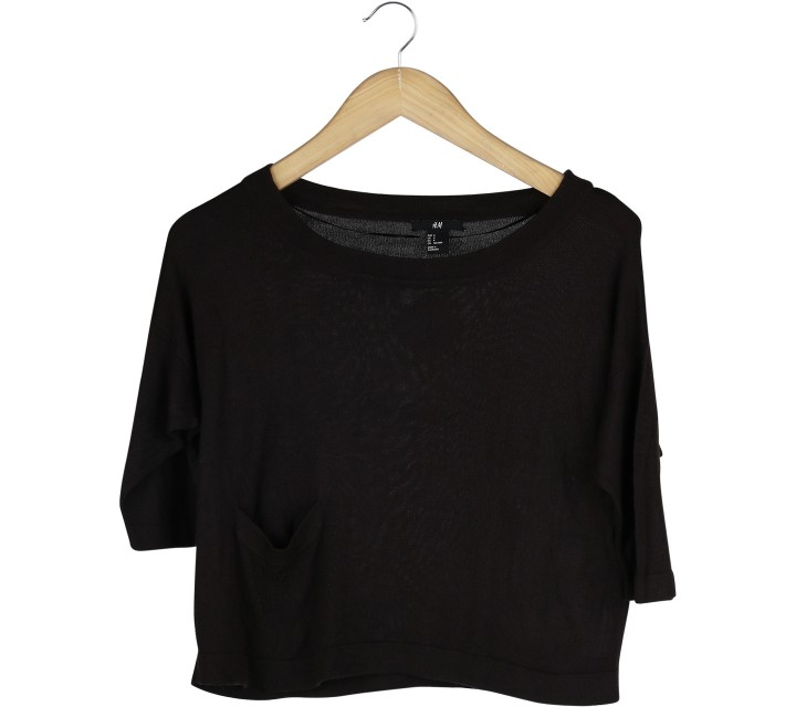 H&M Brown Blouse