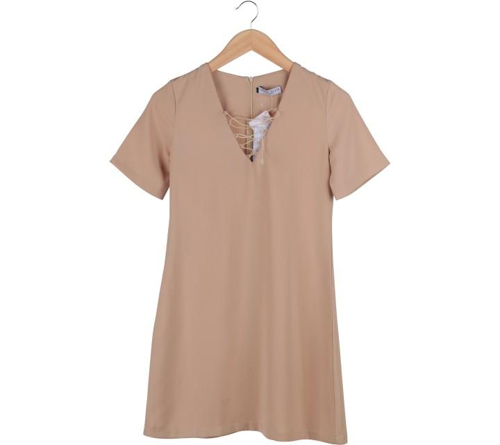 Love + Flair Brown Mini Dress