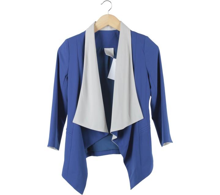 Ciel Blue And Off White Blazer