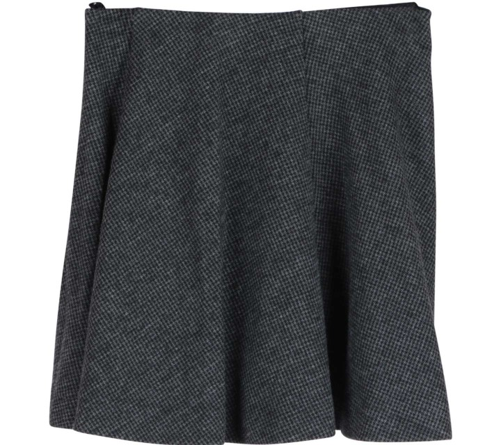UNIQLO Grey Short Skirt