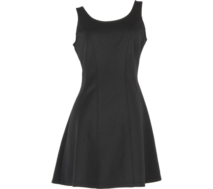 Forever 21 Black Low Back Mini Dress