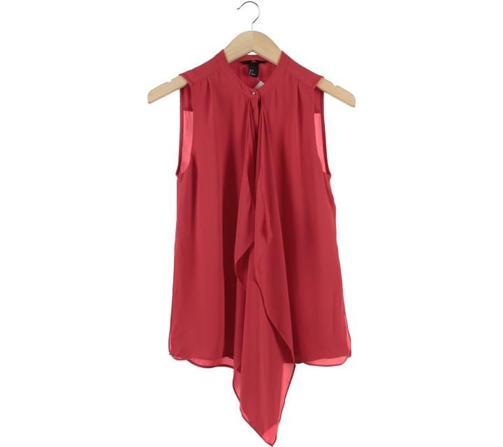H&M Red Sleeveless