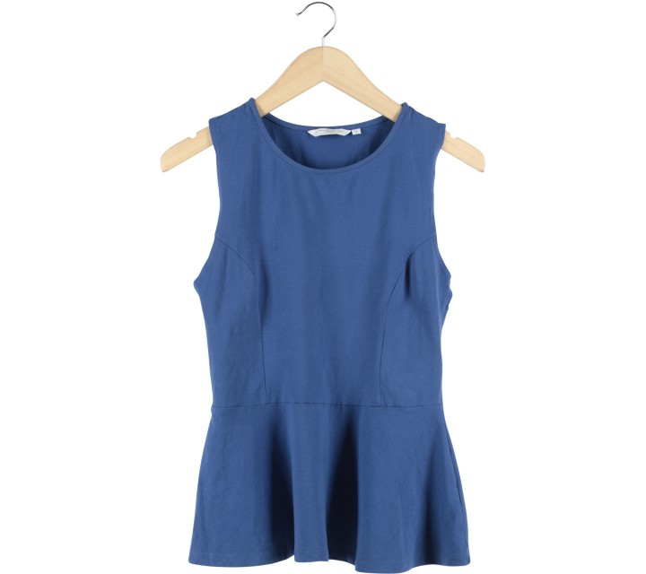 New Look Blue Sleeveless