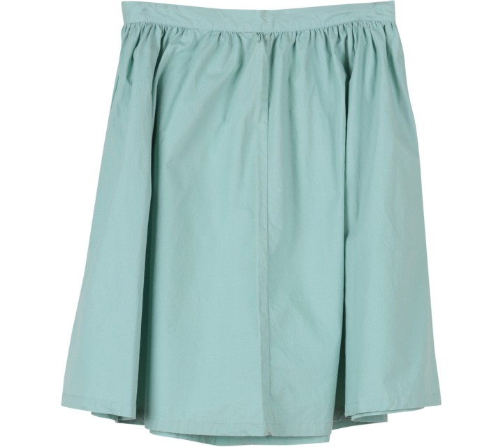 H&M Green Midi Skirt