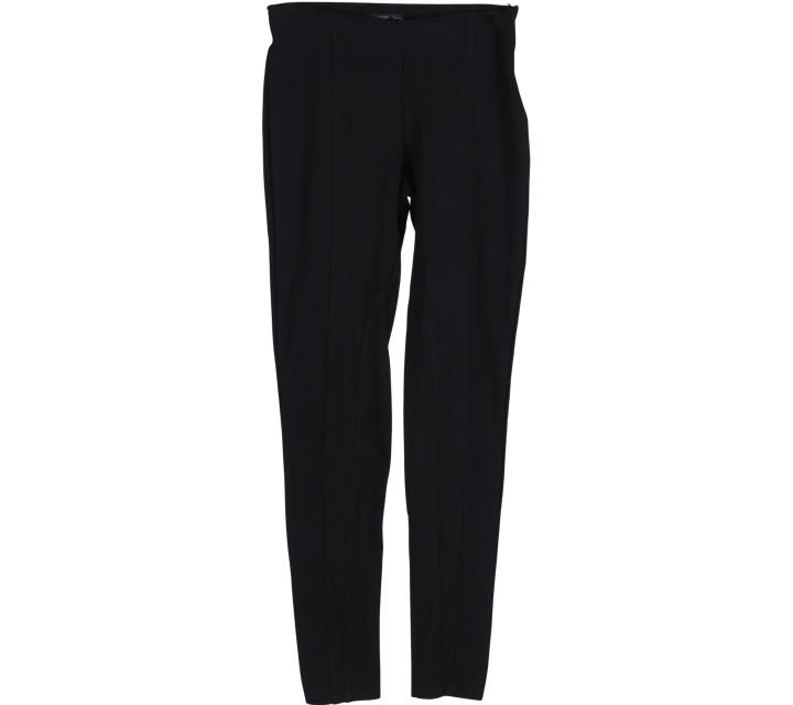 Mango Black High Waisted Pants