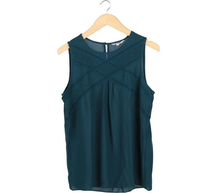 New Look Dark Blue Cross Sleeveless