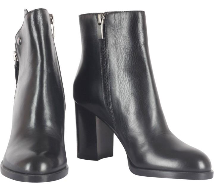 Bruno Premi Black Heels Boots