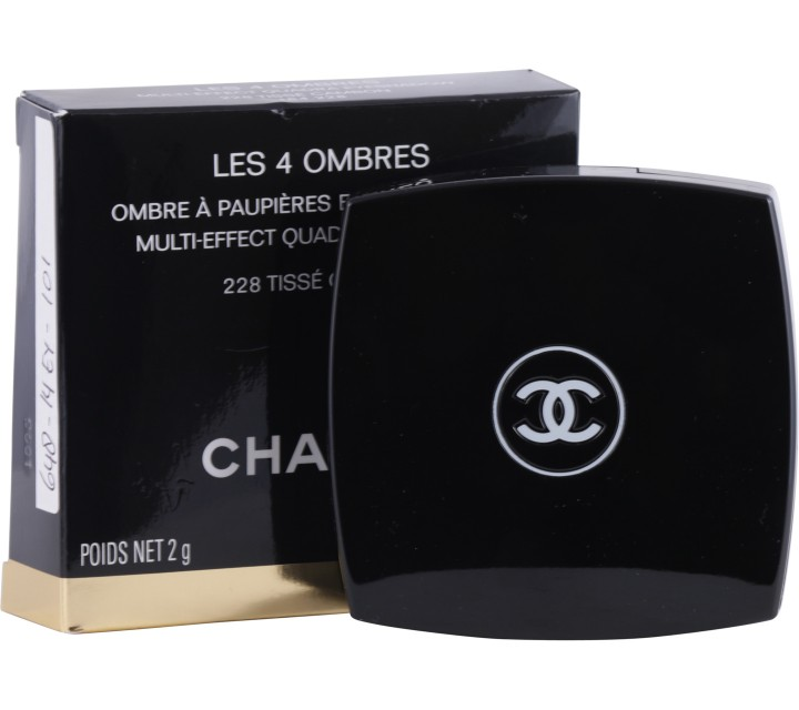 Chanel  228 Tisse Cambon Les 4 Ombres Multi-Effect Quadra Eyeshadow Eyes