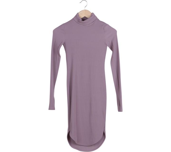 H&M Purple Bodycon Midi Dress