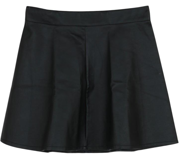 Balmain X H&M Black Mini Skirt