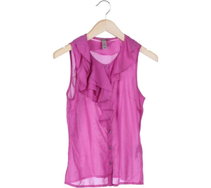 H&M Purple Sleeveless Blouse