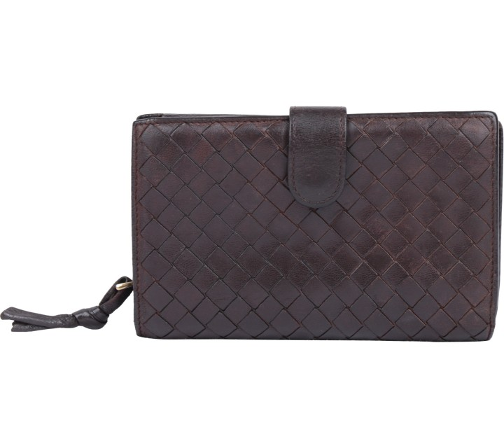 Bottega Veneta Brown Wallet